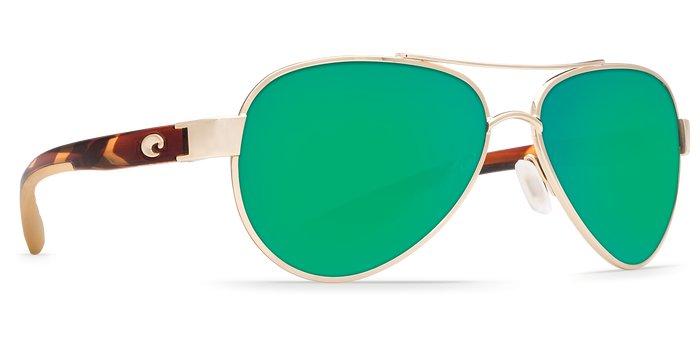 Costa Costa Loreto 580P Rose Gold Frame / Green Mirror