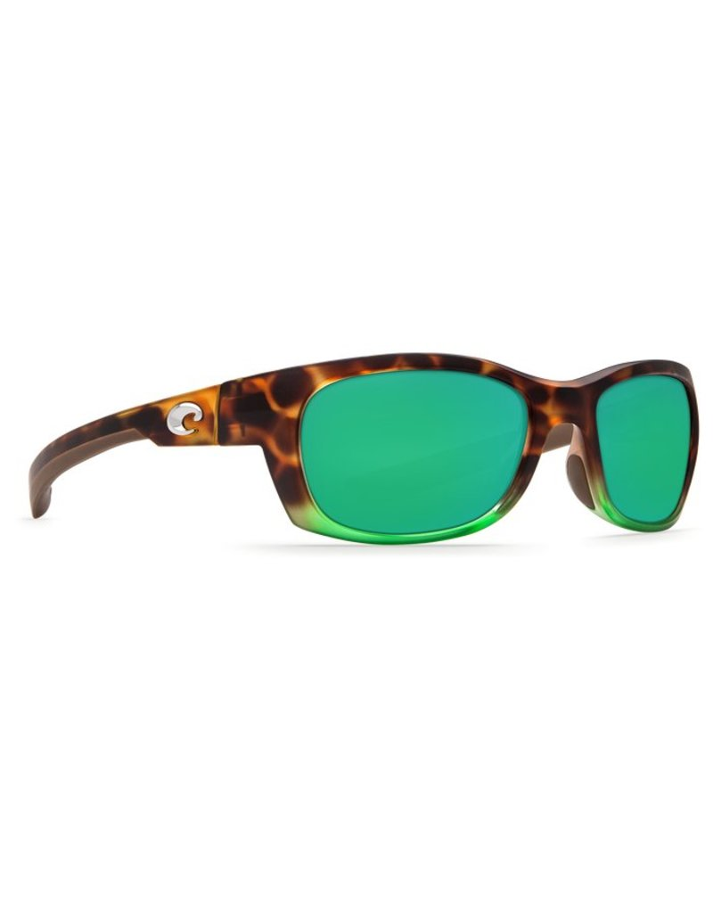 Costa Costa Trevally Green Mirror 580P Matte Tortuga Fade Frame