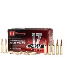 Hornady Rimfire Varmint Express 17 WSM 20gr V-Max