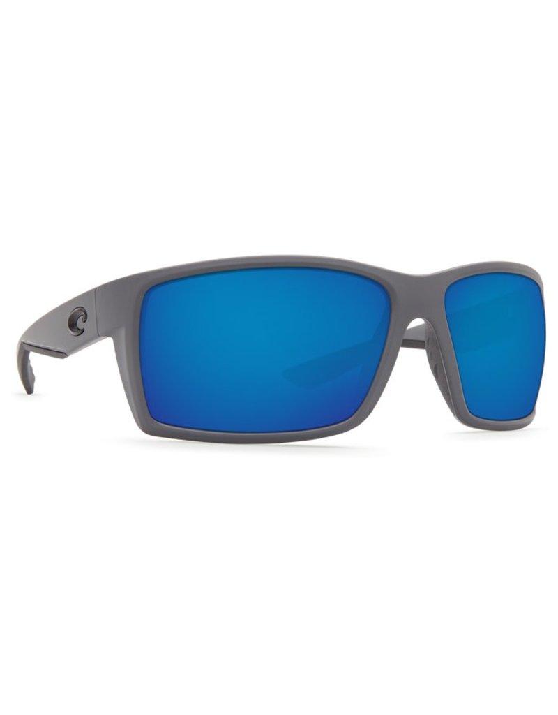 Costa Costa Reefton 580P Matte Gray Frame / Blue Mirror