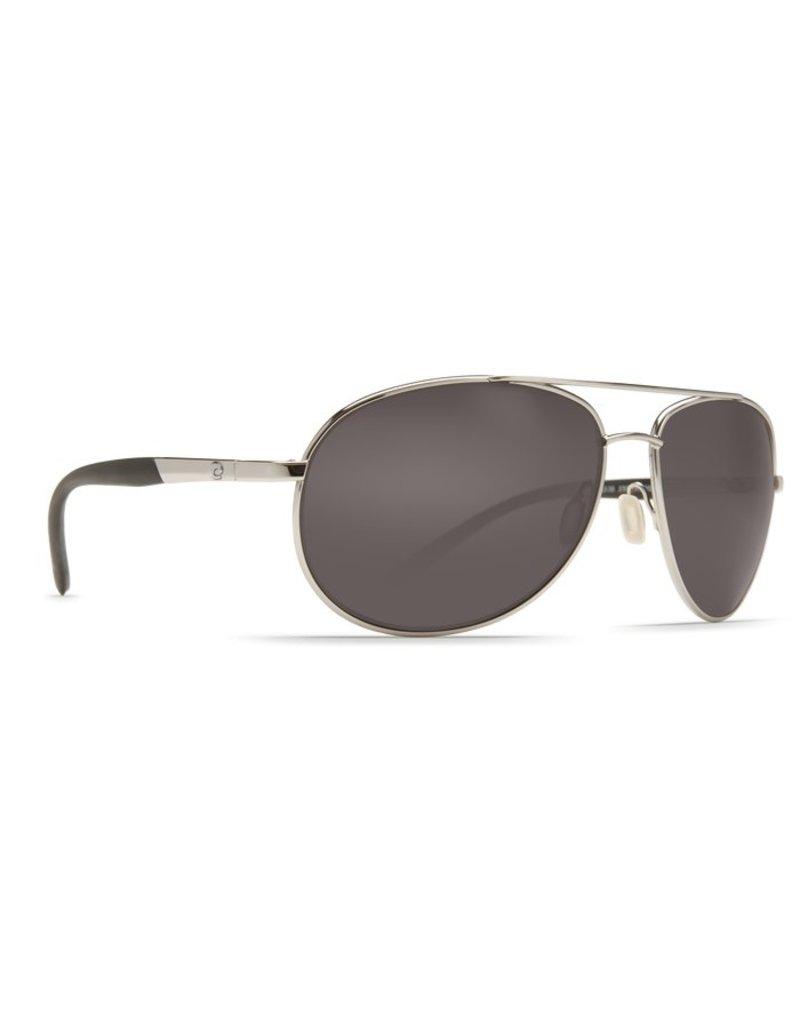 Costa Costa Wingman  Gray Glass - W580 Palladium Silver Frame