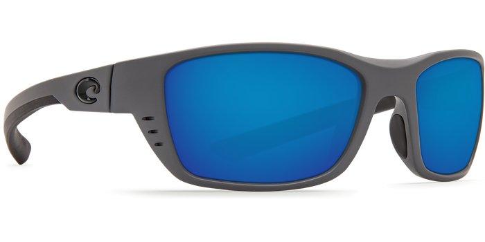 Costa Costa Whitetip 580P Matte Gray Frame / Blue Mirror