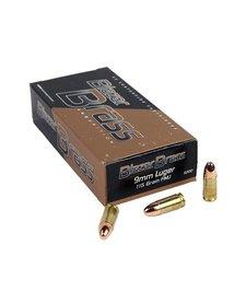 Blazer Brass 9mm Luger 115gr FMJ 50rd