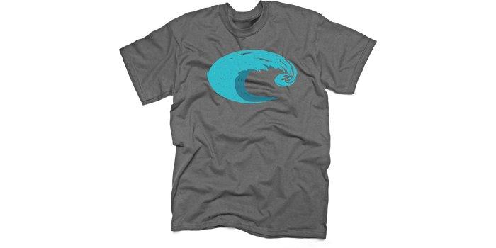 Costa Costa Logo Wave T-Shirt