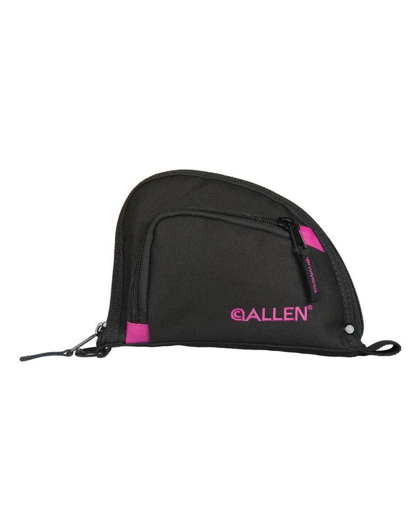 Allen Company Allen Autofit Handgun case 9in Blk/Orchid