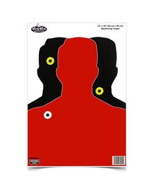 "Birchwood Casey Dirty Bird 12""x18"" Silhouette III Target 8pk"