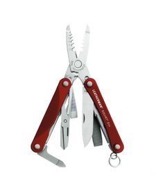 Leatherman Squirt ES4 Multi-Tool, Red
