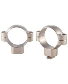 "Leupold STD 1"" High Rings Silver"