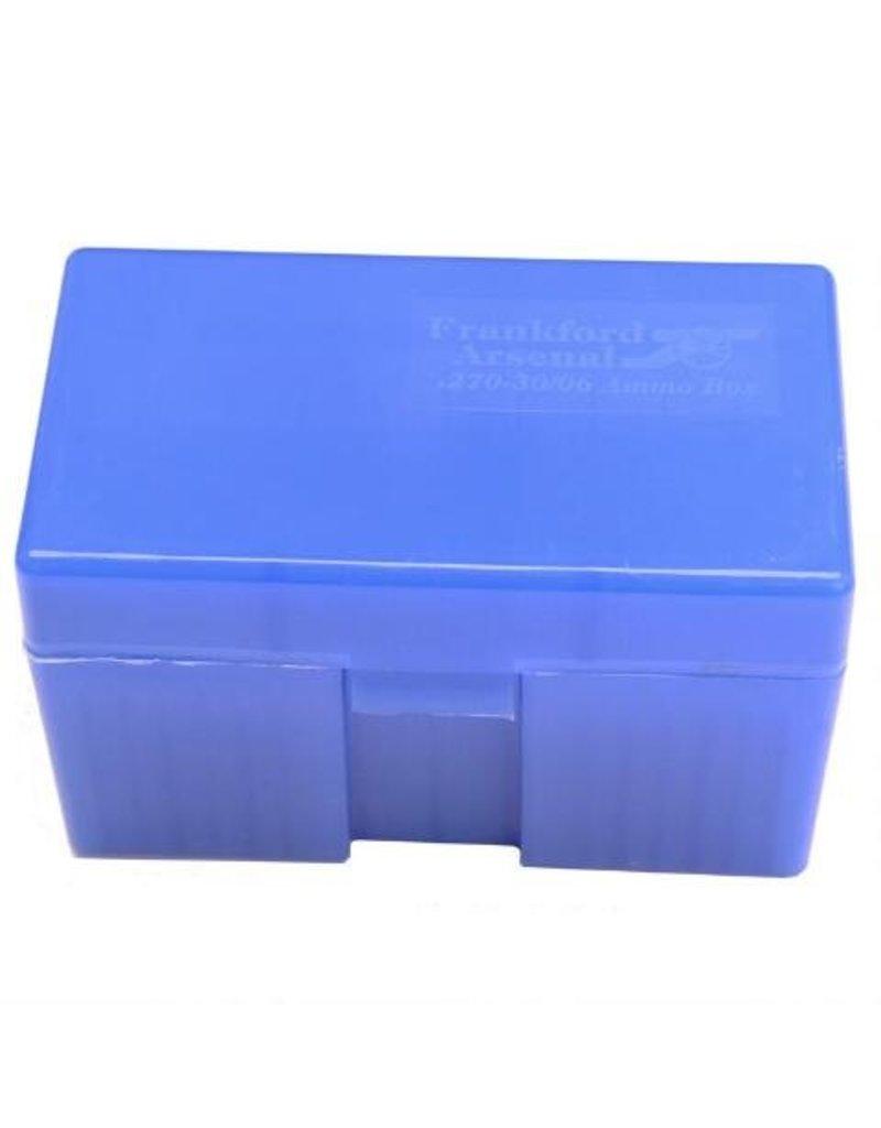 Frankford Blue Ammo Box 270/30-06 50rd #510