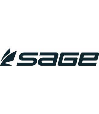 """Sage Sage Boat Sticker 16"""""""" Black Large"""