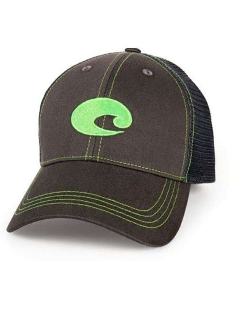 Costa Costa Neon Trucker Graphite Hat