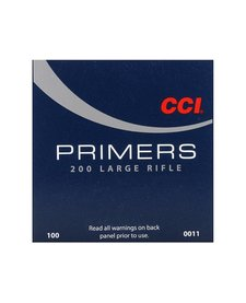 CCI Large Rifle Primers No. 200 100ct