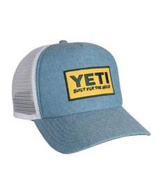 Yeti Deep Fit Foam Patch Trucker Hat Chambray