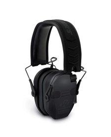 Walker's Razor Slim Electronic Quad Muff w/ Bluetooth Black