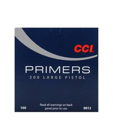 CCI Large Pistol Primers No. 300 100ct