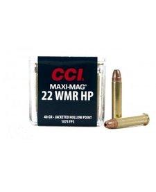 CCI Maxi-Mag 22 WMR 40gr JHP