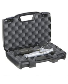 Plano Protector Black Hard Case Single Pistol #1403