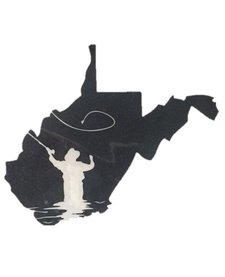 Loving WV Fly Fishing Decal