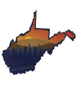McFly Outdoors McFly Outdoors WV Sunset Decal