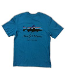 Patagonia Men's Fitz Roy Trout Cotton Tee w/McFly Logo