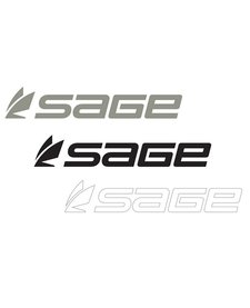 Sage Logo Thermal Die Cut Sticker