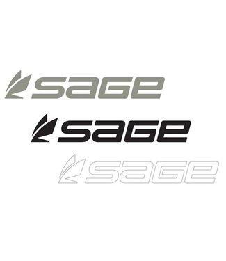 Sage Sage Logo Thermal Die Cut Sticker