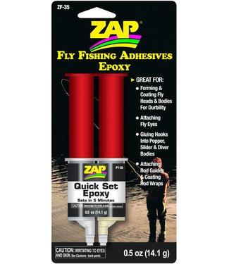 Fly Fishing quick set epoxy