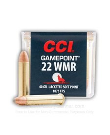 CCI GamePoint 22 WMR 40gr JSP
