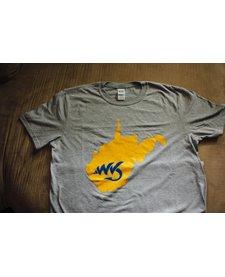 Natives WV Grey/Yellow T-Shirt