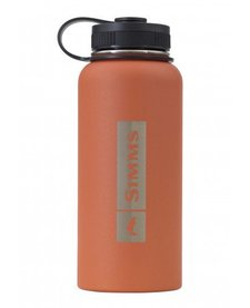 Simms Headwaters Insulated Bottle 32oz Orange