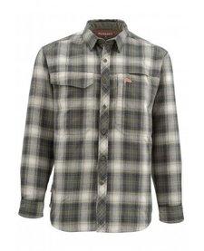Simms Mens Guide Flannel LS Shirt