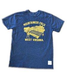Retro Brands WVU Mountaineer Field SS Tee