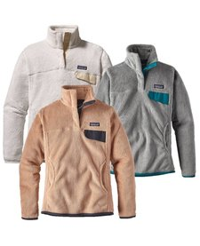 Patagonia Womens Re-Tool Snap-T Pull-Over
