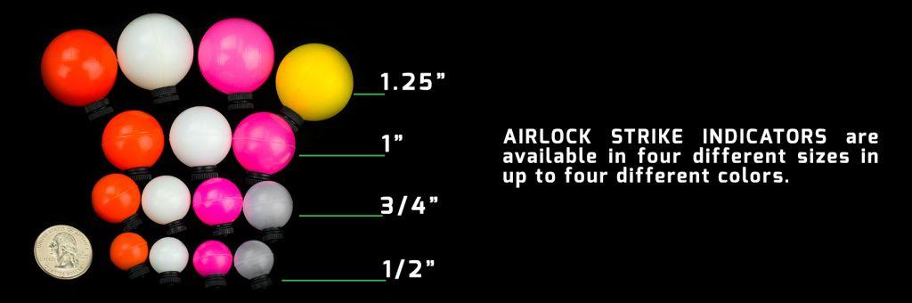 Air-Lock Strike Indicators