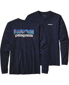 Patagonia Mens P-6 Logo LS Tee