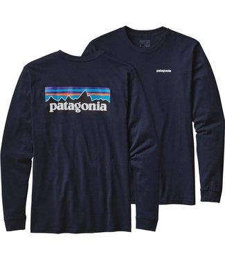 Patagonia Patagonia Men's P-6 Logo LS Tee