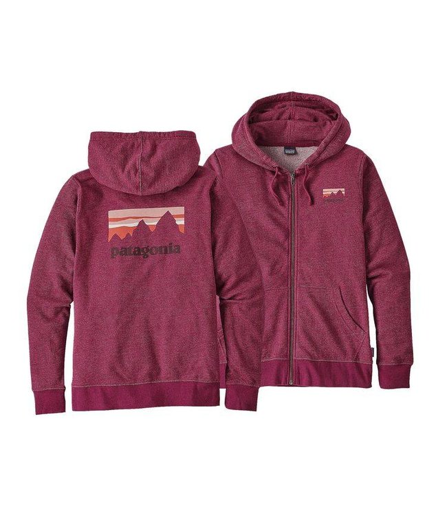 Patagonia Patagonia Womens Shop Sticker Lightweight Full-Zip Hoody