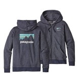 Patagonia Patagonia Womens Shop Sticker Lightweight Full-Zip Hoody
