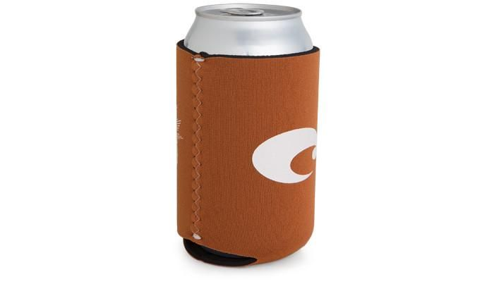 Costa Costa Coozie Classic Burnt Orange With White One Size Fits All