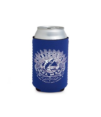 Costa Costa Coozie Classic Royal With White