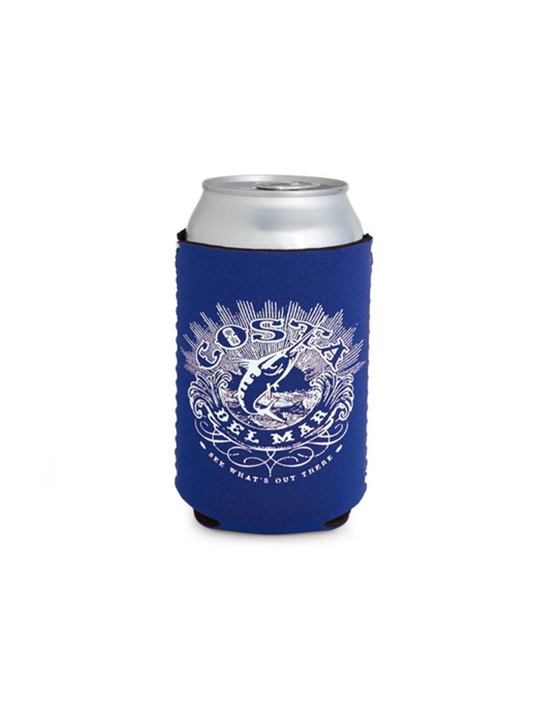 Costa Costa Coozie Classic Royal With White One Size Fits All