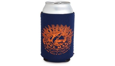 Costa Costa Coozie Classic Navy With Orange One Size Fits All
