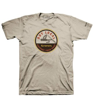 Simms Simms Buy Local SS Tee