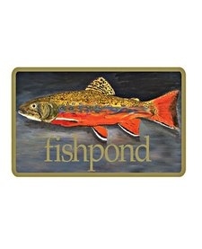Fishpond Brown Trout Sticker 5.5""