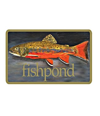 Fishpond Fishpond Brown Trout Sticker 5.5""