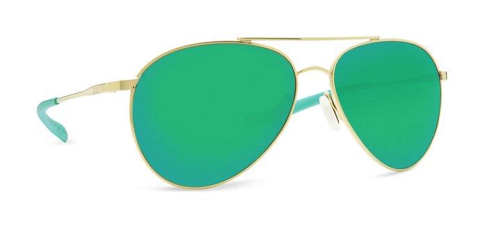 Costa Costa Piper Shiny Gold Green Mirror 580P