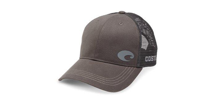 Costa Costa Offset Logo HD Trucker Hat Graphite
