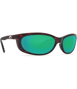 Costa Costa Fathom Tortoise Green Mirror 580P