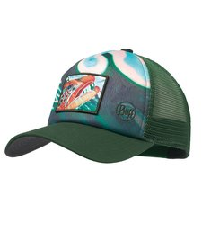 Buff Trucker Cap Deyoung Brown Callibaetis