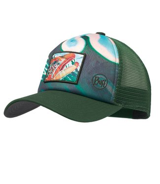Buff Headwear Buff Trucker Cap Deyoung Brown Callibaetis